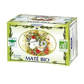 Maté - 20.0 unites - tisanes simples bio - romon nature -16190