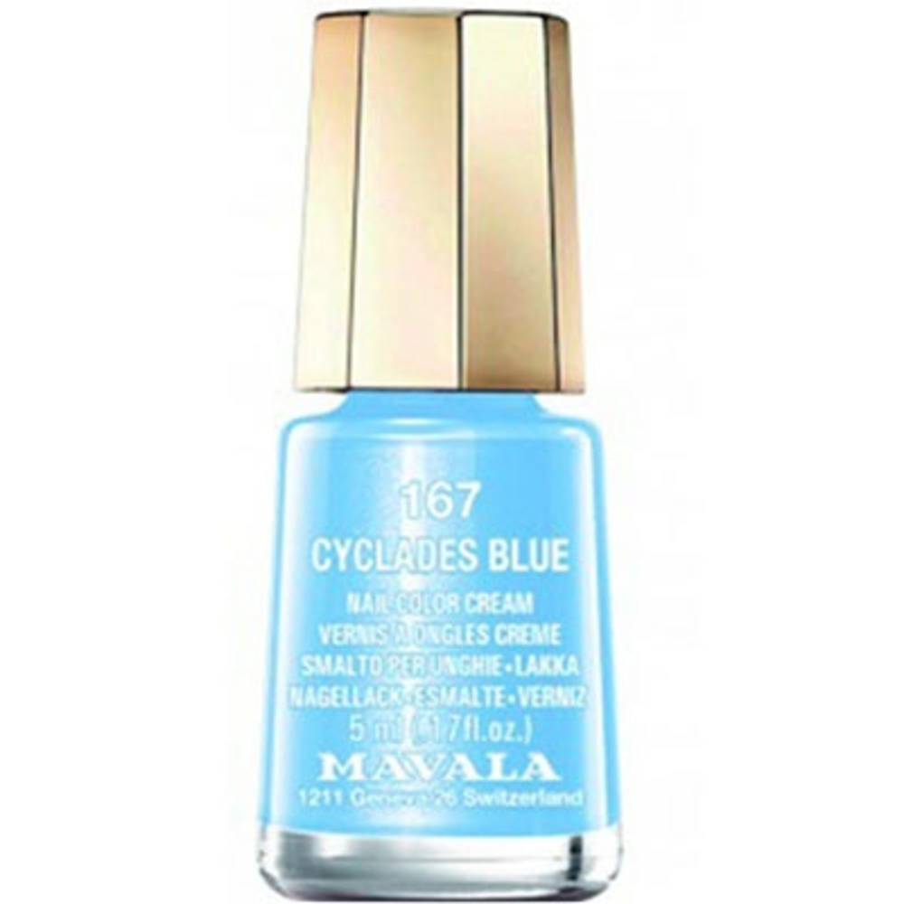 Mavala vernis à ongles 167 cyclades blue - 5.0 ml - mavala -147167