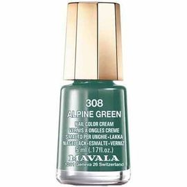 Mavala vernis à ongles alpine green 308 - 5.0 ml - mavala -147347