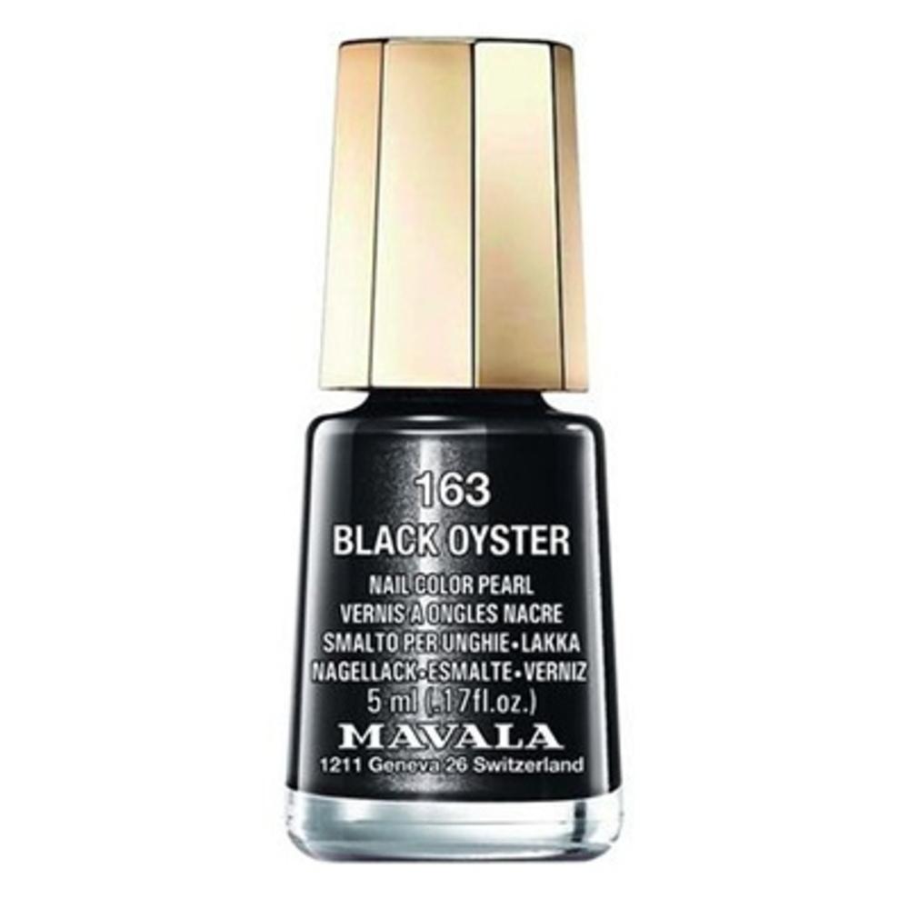Mavala vernis black oyster 163 - 5.0 ml - mavala -147163