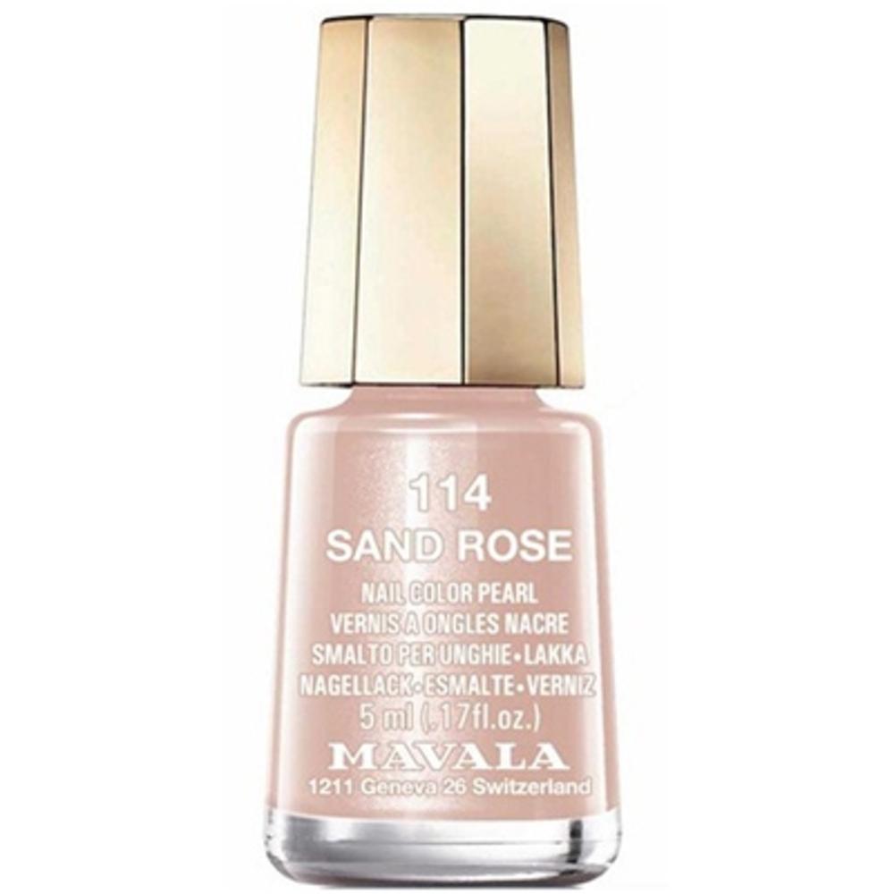Mavala vernis sand rose 114 - 5.0 ml - mavala -147116