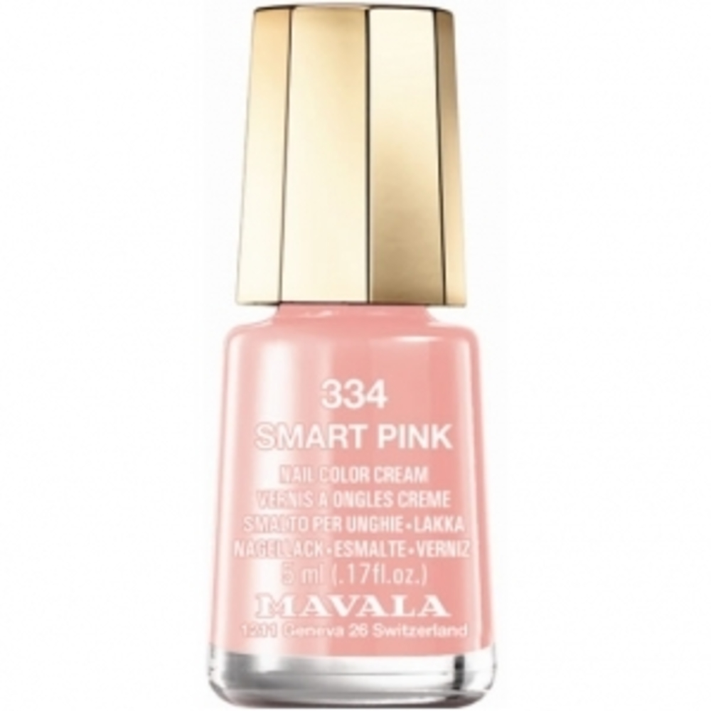 Mavala vernis smart pink 334 - 5.0 ml - mavala -147372