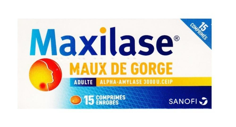 Maxilase maux de gorge - 15 comprimés - sanofi -192608