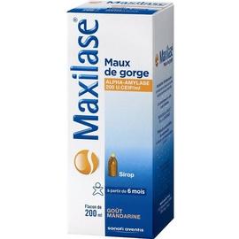 Maxilase maux de gorge sirop - 200.0 ml - sanofi -192858