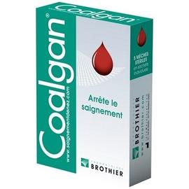 Mêches stériles - 5.0 pce - coalgan -148696