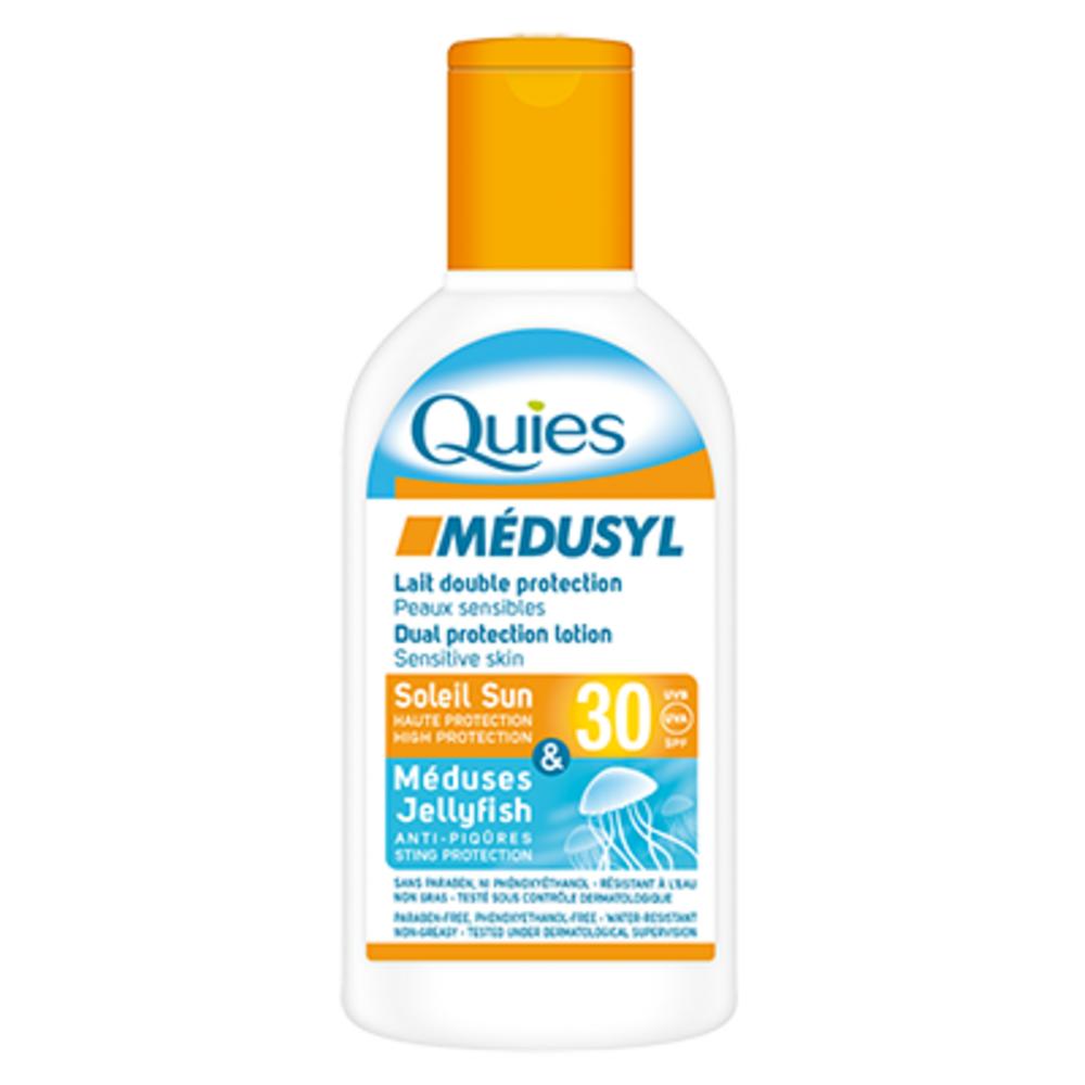 Médusyl lait double protection spf30 - 120ml - quies -196961