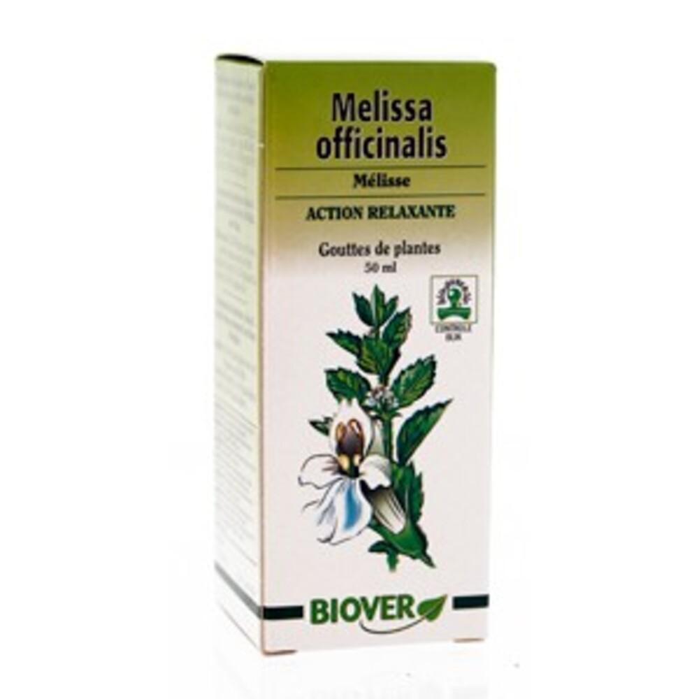Melissa officinalis (mélisse) bio - 50.0 ml - gouttes de plantes - teintures mères - biover Favorise la digestion & la détente-8983