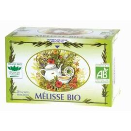 Mélisse - 20.0 unites - tisanes simples bio - romon nature -16191