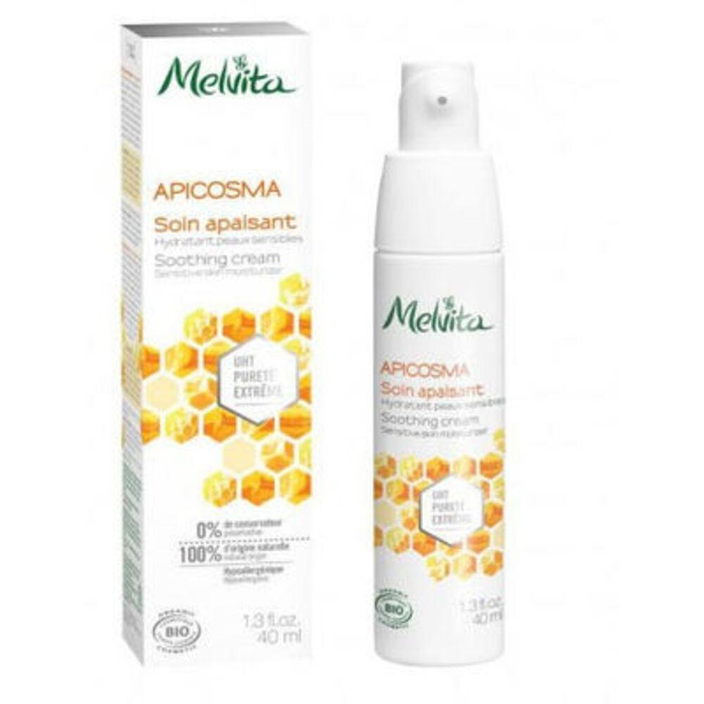 MELVITA Apicosma Soin Apaisant Peaux Sensibles Bio 40ml - apicosma - Melvita -213391