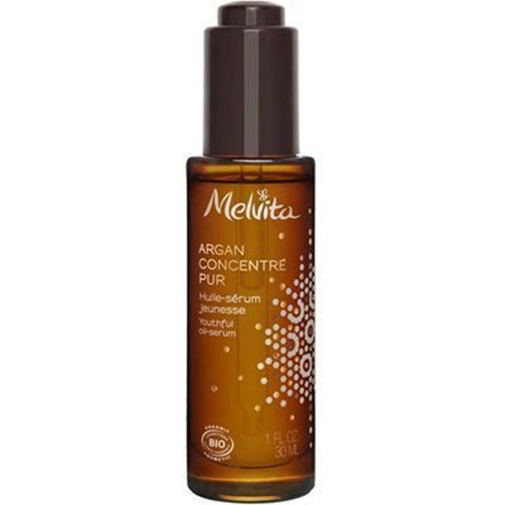 Melvita argan concentré pur huile-sérum jeunesse 30ml Melvita-223066