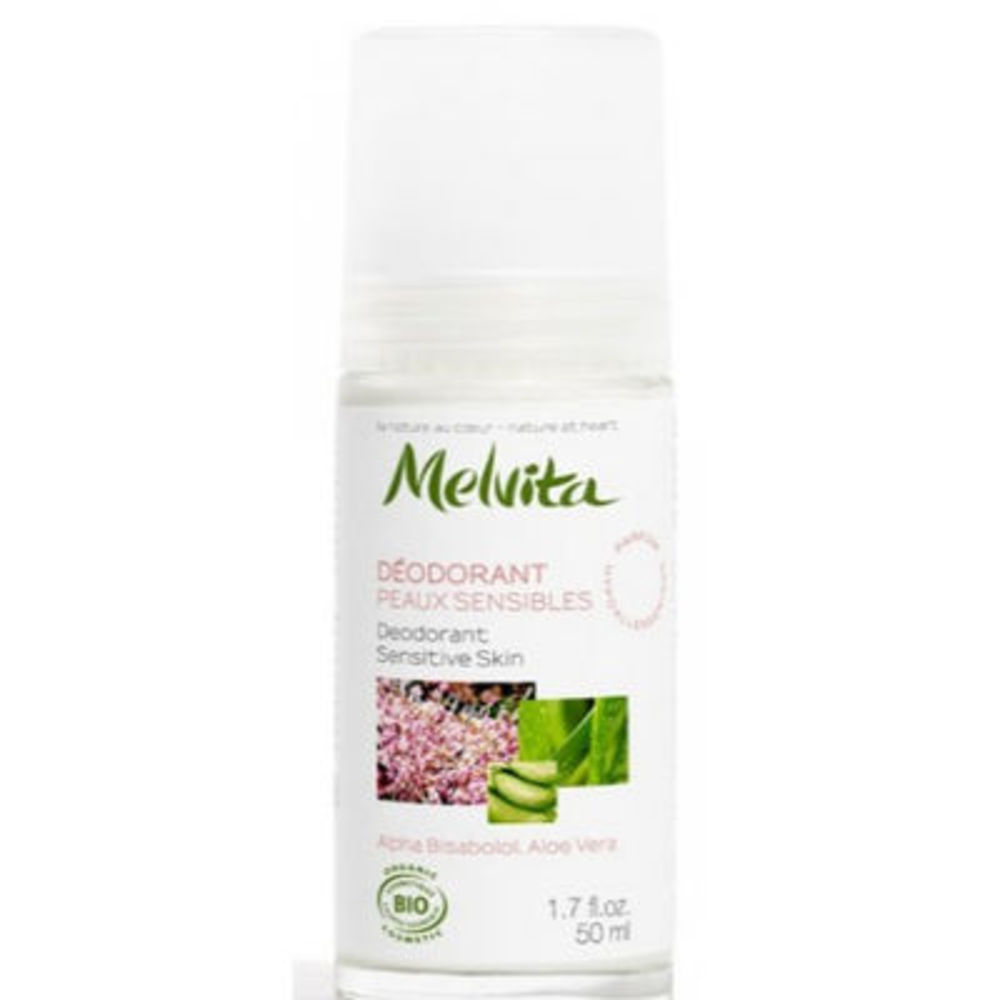 MELVITA Déodorant Peaux Sensibles Bio 50ml - déodorants sans sel d'aluminium ni paraben - Melvita -213453