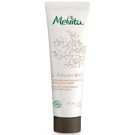 Melvita l'argan bio crème mains veloutée 30ml - argan bio - melvita -213404