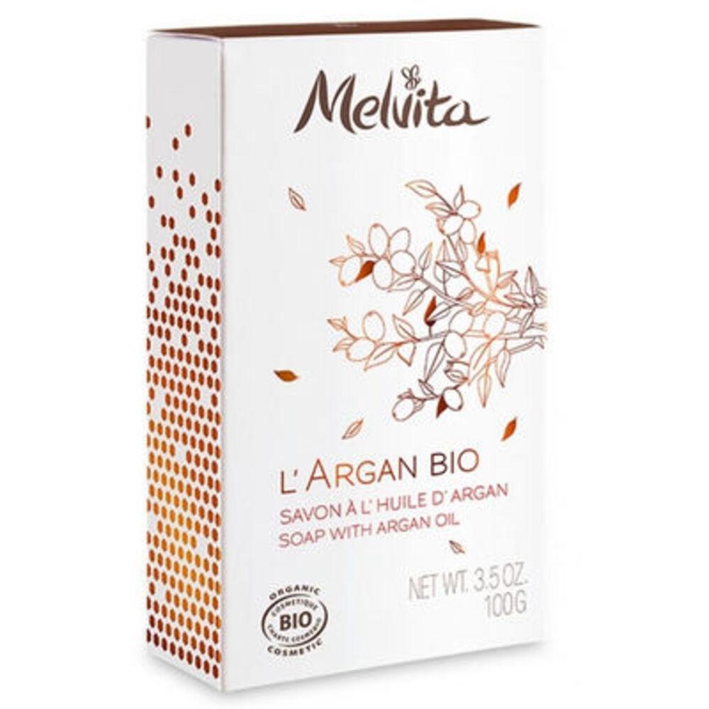 Melvita l'argan bio savon à l'huile d'argan bio 100g - argan bio - melvita -213409