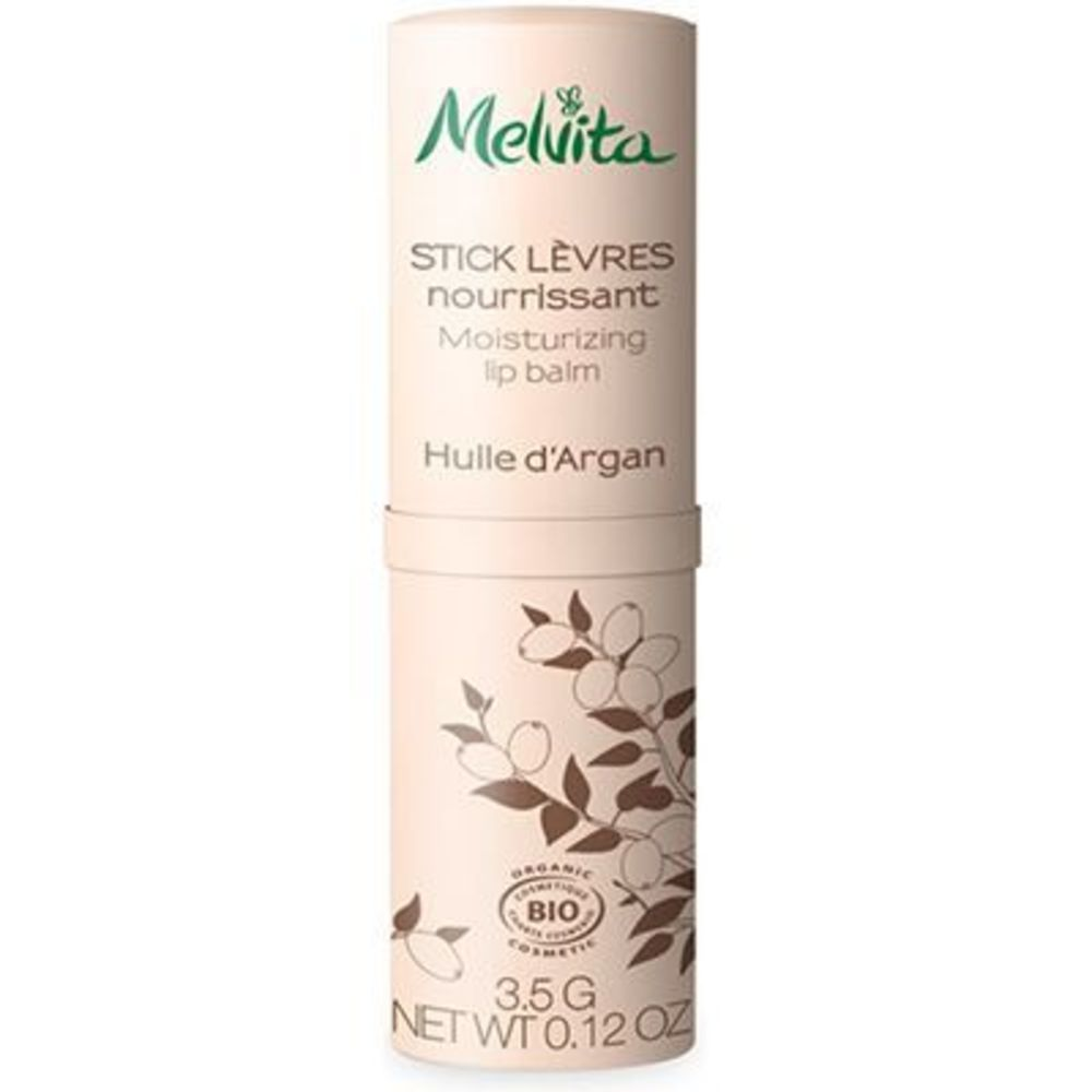 Melvita l'argan bio stick lèvres nourrissant bio 3,5g - argan bio - melvita -213408