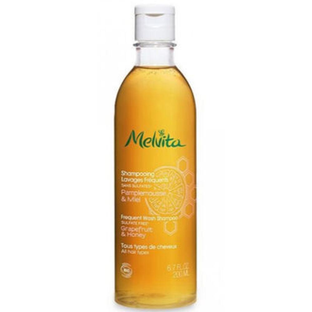MELVITA Shampooing Lavages Fréquents Bio 200ml - les shampooings et demelants - Melvita -213464