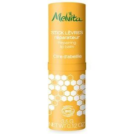 Melvita stick lèvres réparateur cire d'abeille bio 3,5g - apicosma - melvita -213393
