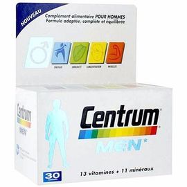 Men 30 comprimés - centrum -215096