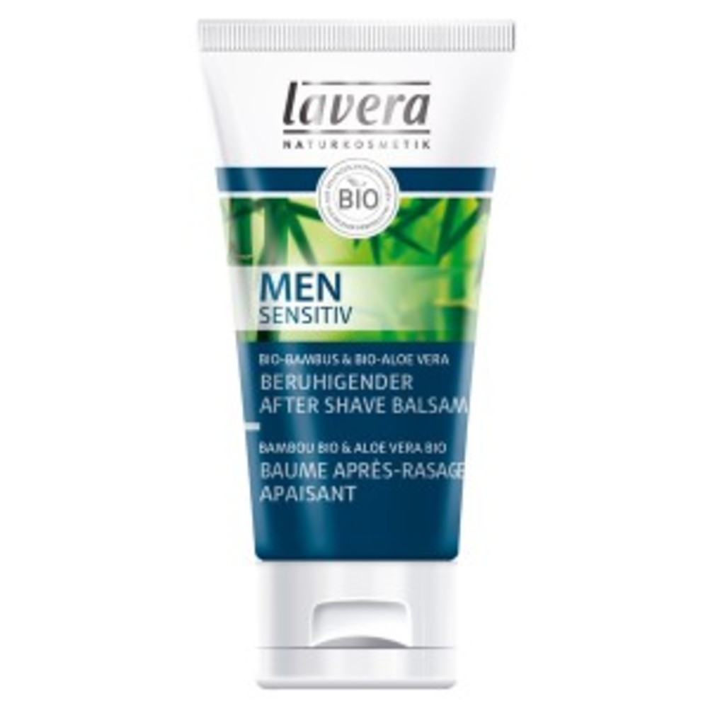 Men spa, baume après rasage apaisant - 50.0 ml - men spa - lavera -140857