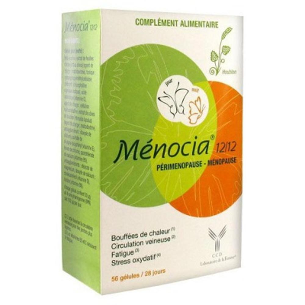 Menocia ménopause 56 gélules - laboratoire ccd -190155