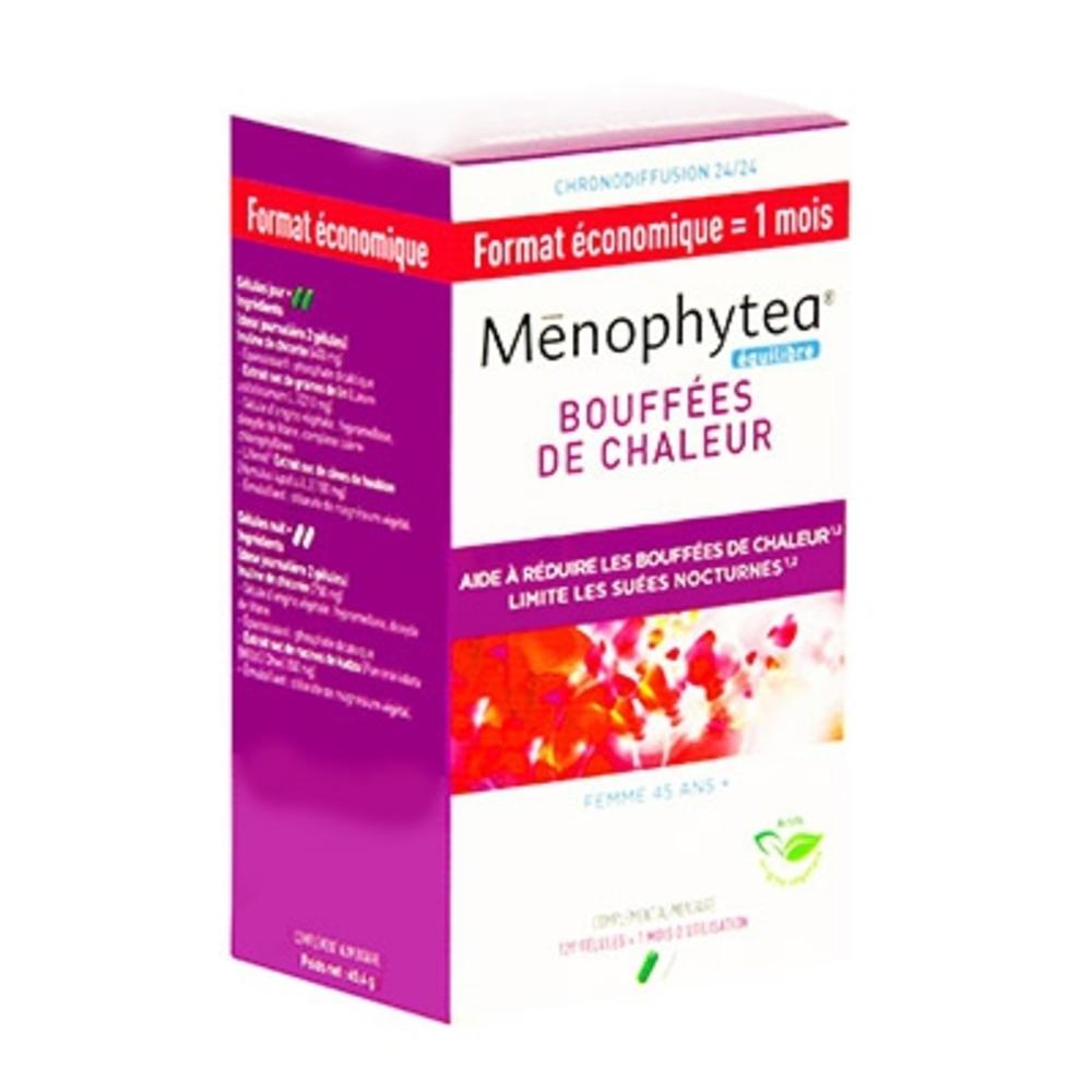 Menophytea bouffées de chaleur - 120 gélules - phytea -199302