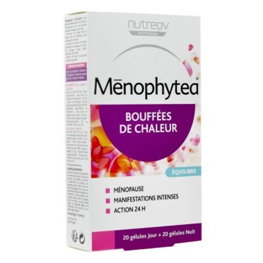 Menophytea bouffées de chaleur 40 gélules - 40.0 unites - ménopause silhouette - phytea -138831