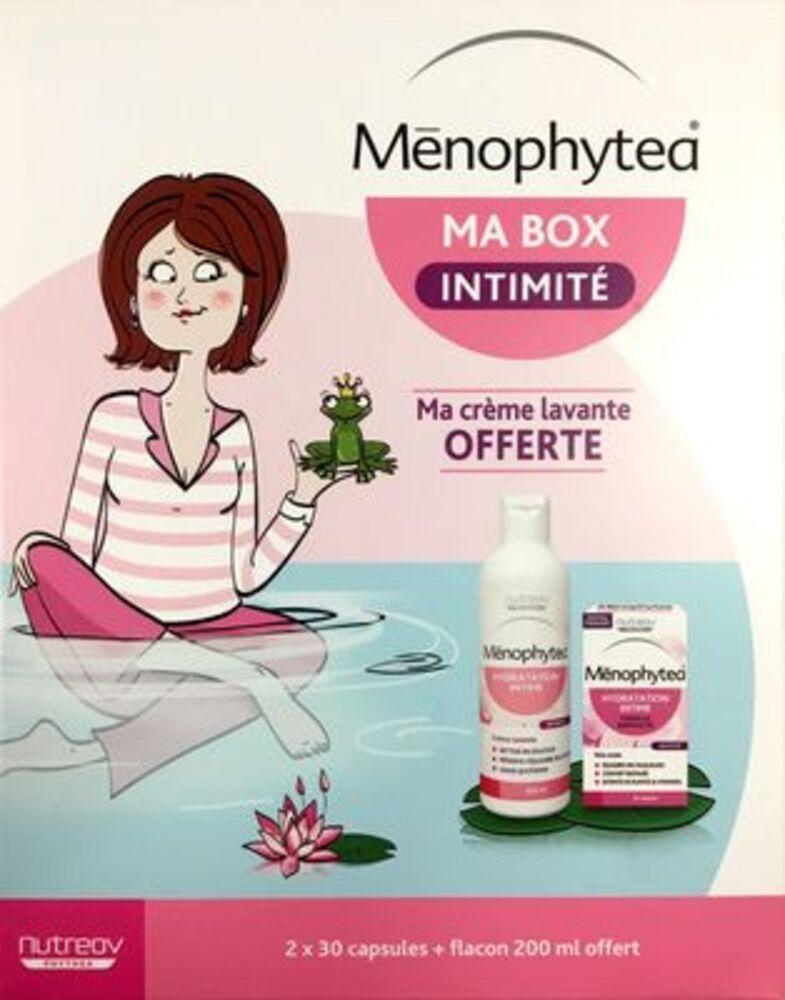 Menophytea ma box intimité hydratation intime 2x30 capsules + crème lavante 200ml offerte - menophytea -221510