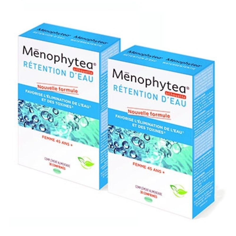 MENOPHYTEA Rétention d'eau - 2x30 comprimés - 30.0 unites - Ménopause Silhouette - Phytea -129276