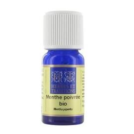 Menthe poivrée (mentha piperita) bio - 10.0 ml - huiles essentielles 10ml - herbes et traditions Huile essentielle du mal des transports et de la fatigue des pieds-1885
