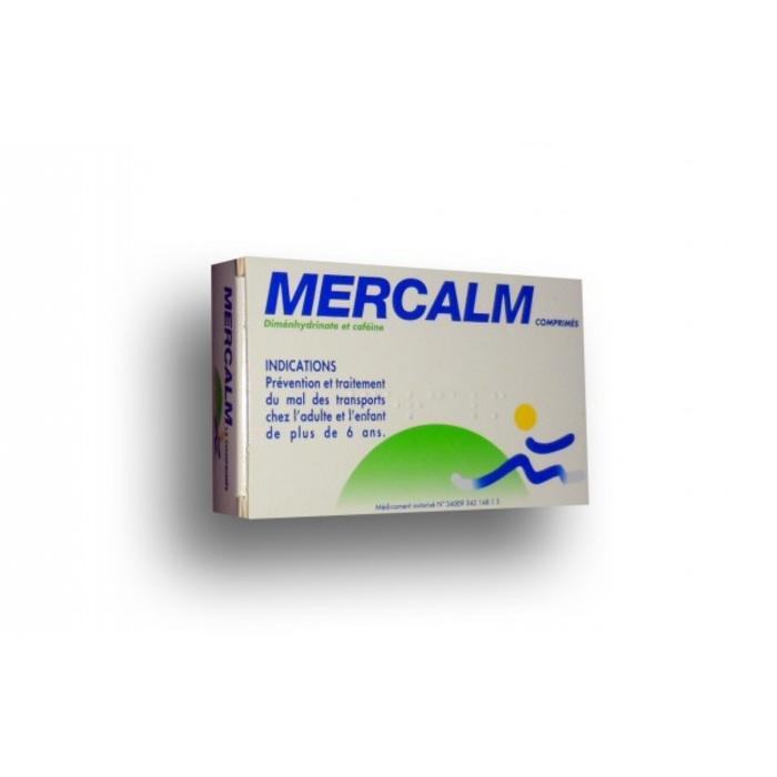 Mercalm - 15 comprimés Laboratoire hepatoum-192885