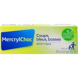 Mercryl choc emulsion gel 50ml - mercryl -211217