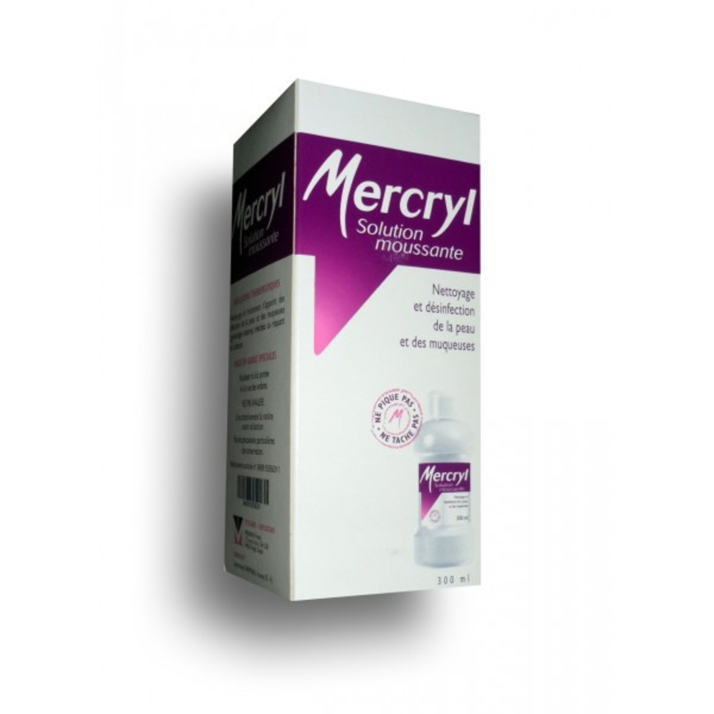 Mercryl solution moussante - 300.0 ml - menarini -194031