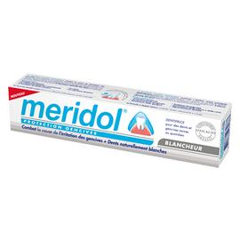 Meridol dentifrice blancheur - 75.0 ml - méridol -146456