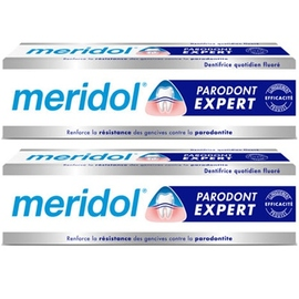 Meridol parodont dentifrice - 2x75ml - méridol -206620