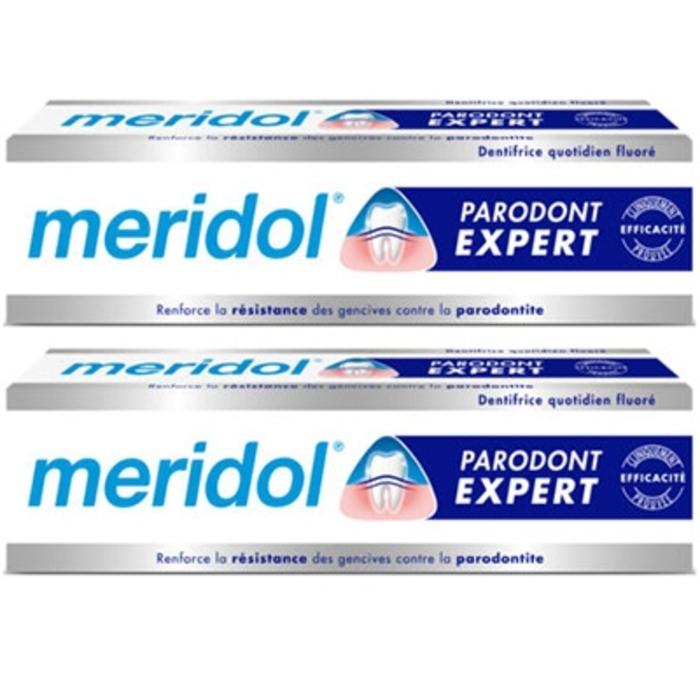 Meridol parodont dentifrice - 2x75ml Méridol-206620