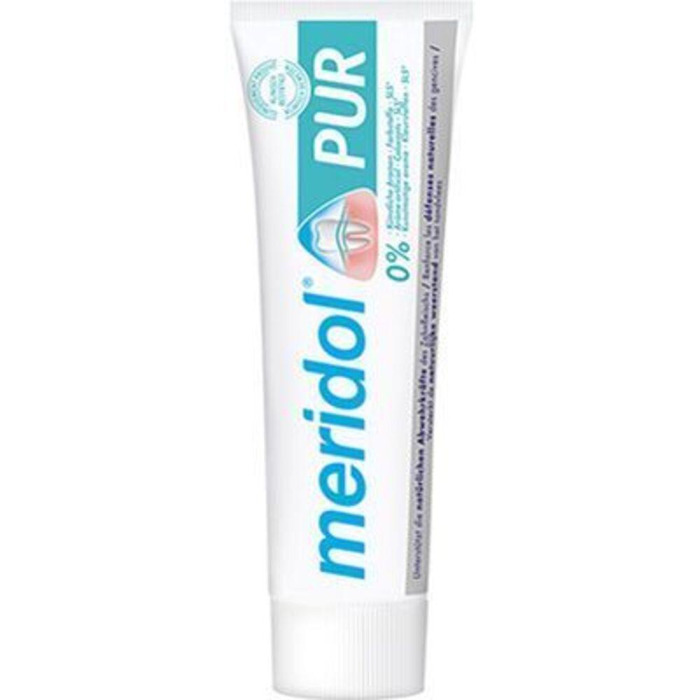 Meridol pur dentifrice 75ml - méridol -225920