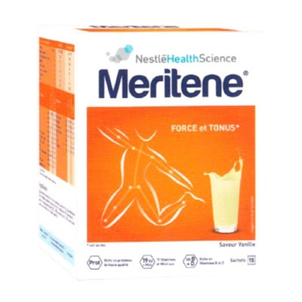 MERITENE Force et Tonus - 15 sachets - Meritene -204946