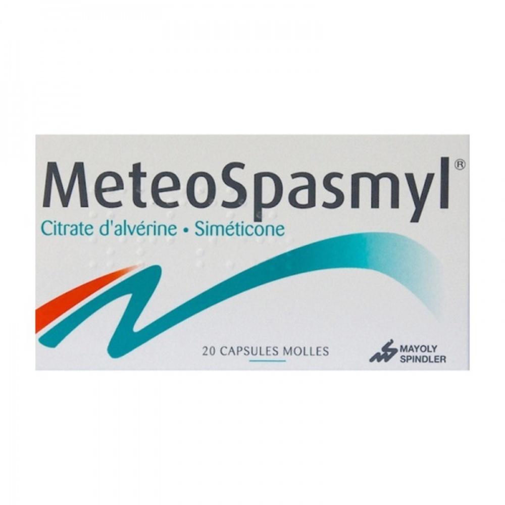 Meteospasmyl - 20 capsules - mayoly spindler -194135