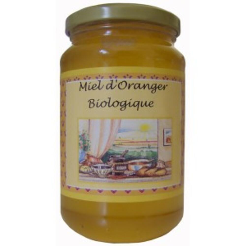 Miel d' oranger bio - pot 500 g - divers - mellidor -136918