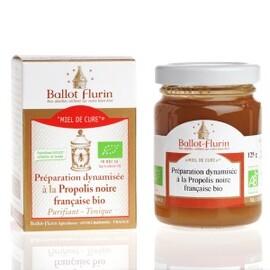 miel de cure miel sapin et propolis fraîche bio - 125.0 g - apithérapie pure - ballot flurin Forme et vitalité au quotidien-11565