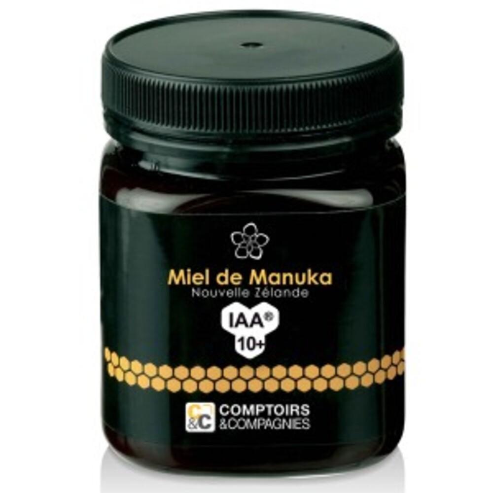 Miel de manuka umf 10+ - 250.0 g - le miel de manuka - comptoirs & compagnies -113963
