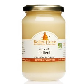 Miel de tilleul  bio - 500.0 g - gourmandises - ballot flurin -133711