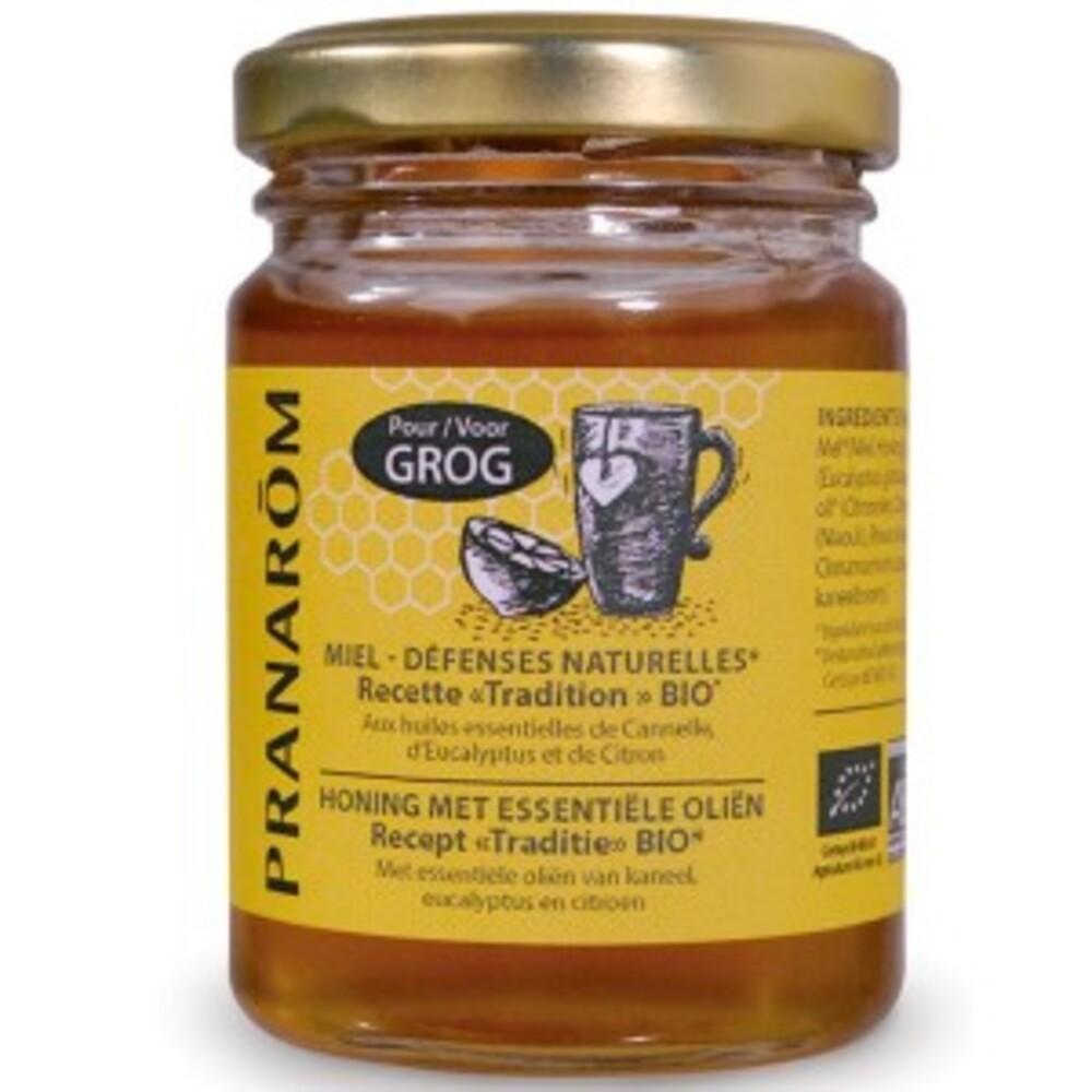 Miel défenses naturelles, grog miel aux he bio - 100 ml - divers - pranarom nature -189766
