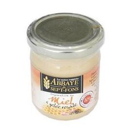 Miel + gelée royale 10 % - 250 g - divers - abbaye de sept-fons -133286