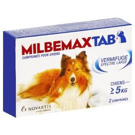 Milbemaxtab chien de plus de 5kg - novartis -161351