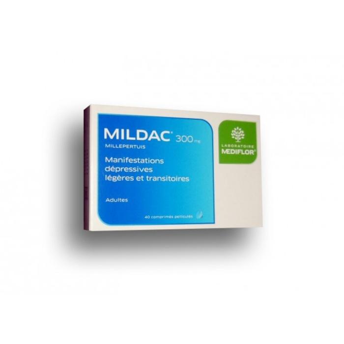 Mildac 300mg - 40 comprimés Mediflor-192819