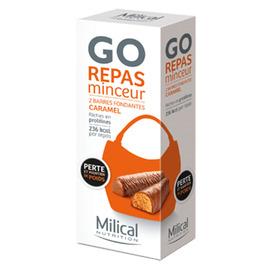 Milical barres repas minceur caramel x2 - milical -198616