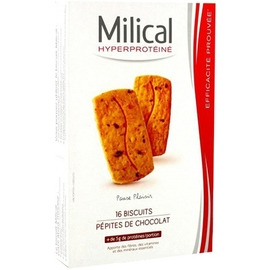 Milical biscuits pépites de chocolat x16 - milical -204138