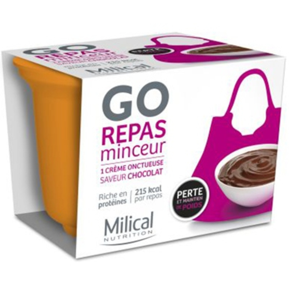 MILICAL Repas Minceur Chocolat - 12.0 unites - Repas express - Milical -7371