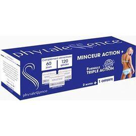 Minceur action+ lot de 3x40 gélules - phytalessence -210577