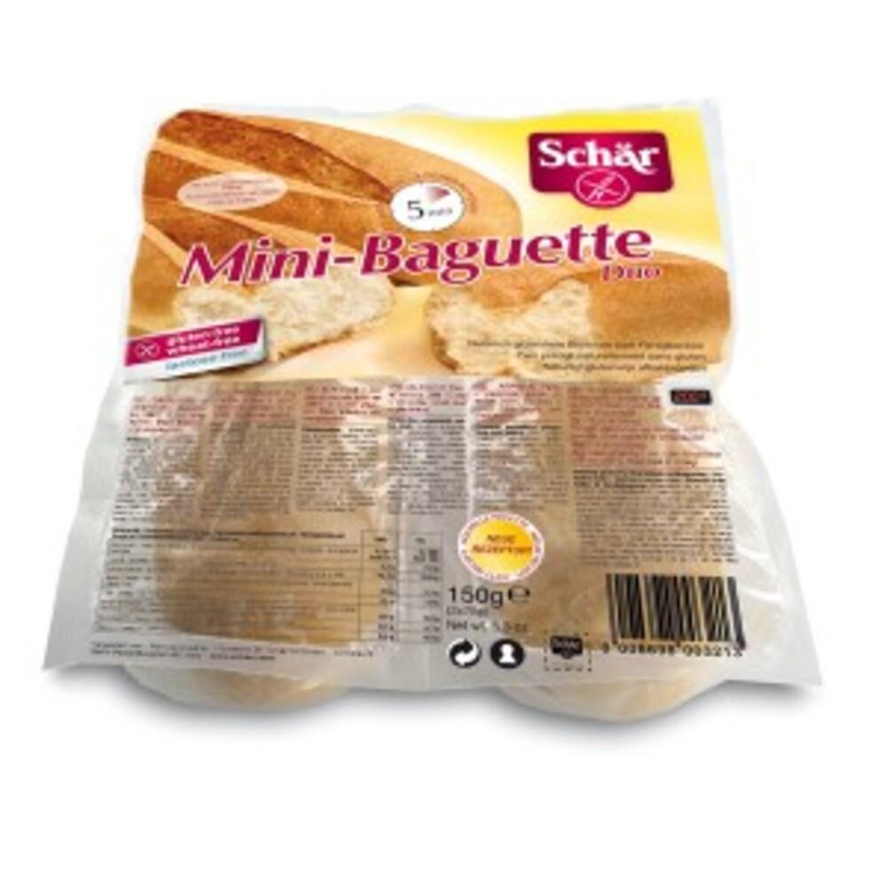Mini baguettes duo - 2 x 75 g - divers - schar -138200